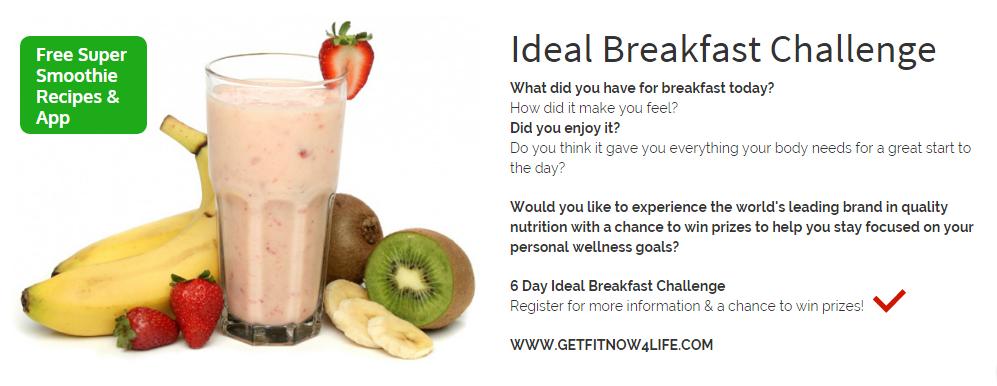 Ideal Breakfast Challenge